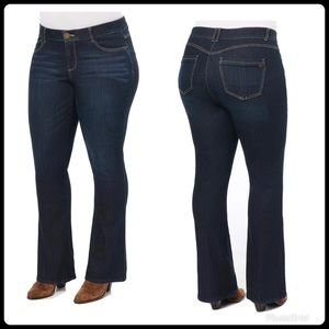 """NWT """"Ab""""solution® Itty Bitty Boot Plus Jeans"""
